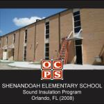 Shenandoah Elementary School Sound Insulation Program